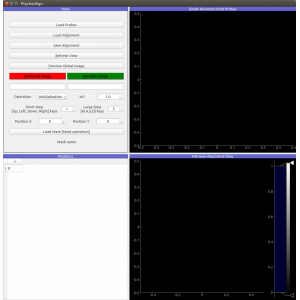 Ptychography Alignment Tools - PaNdata Software